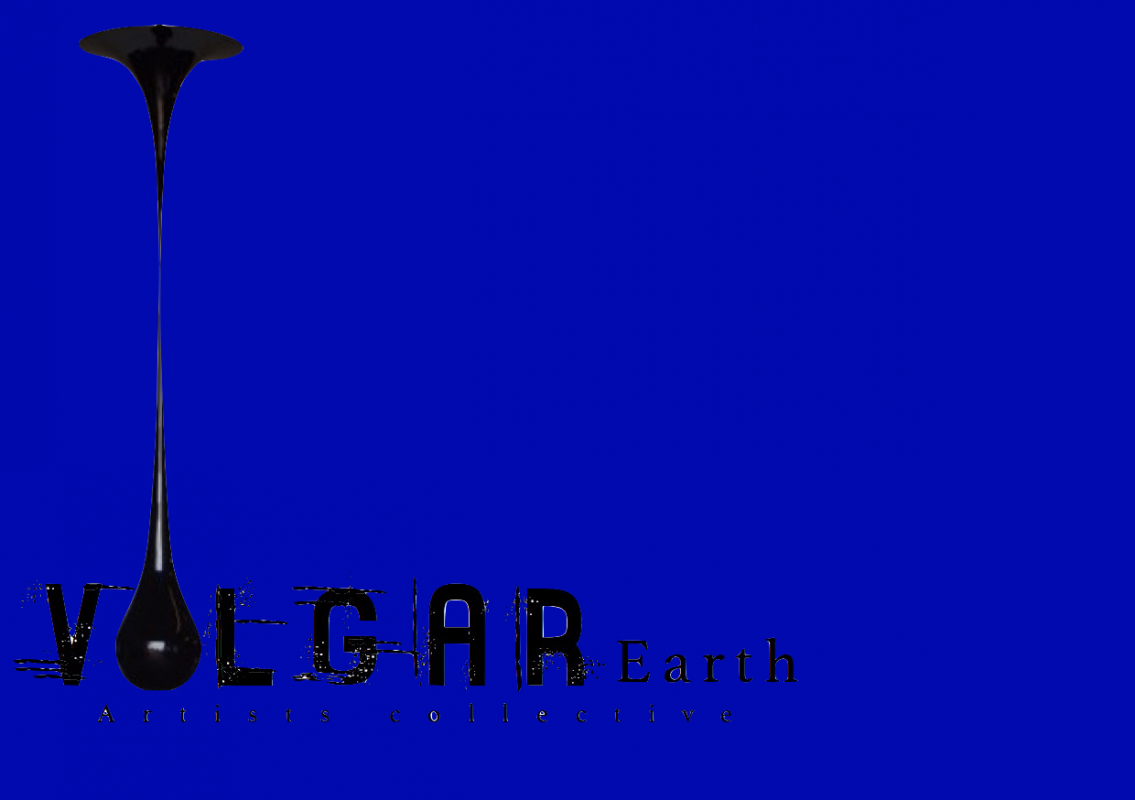 Vulgar Earth logo with oil drip