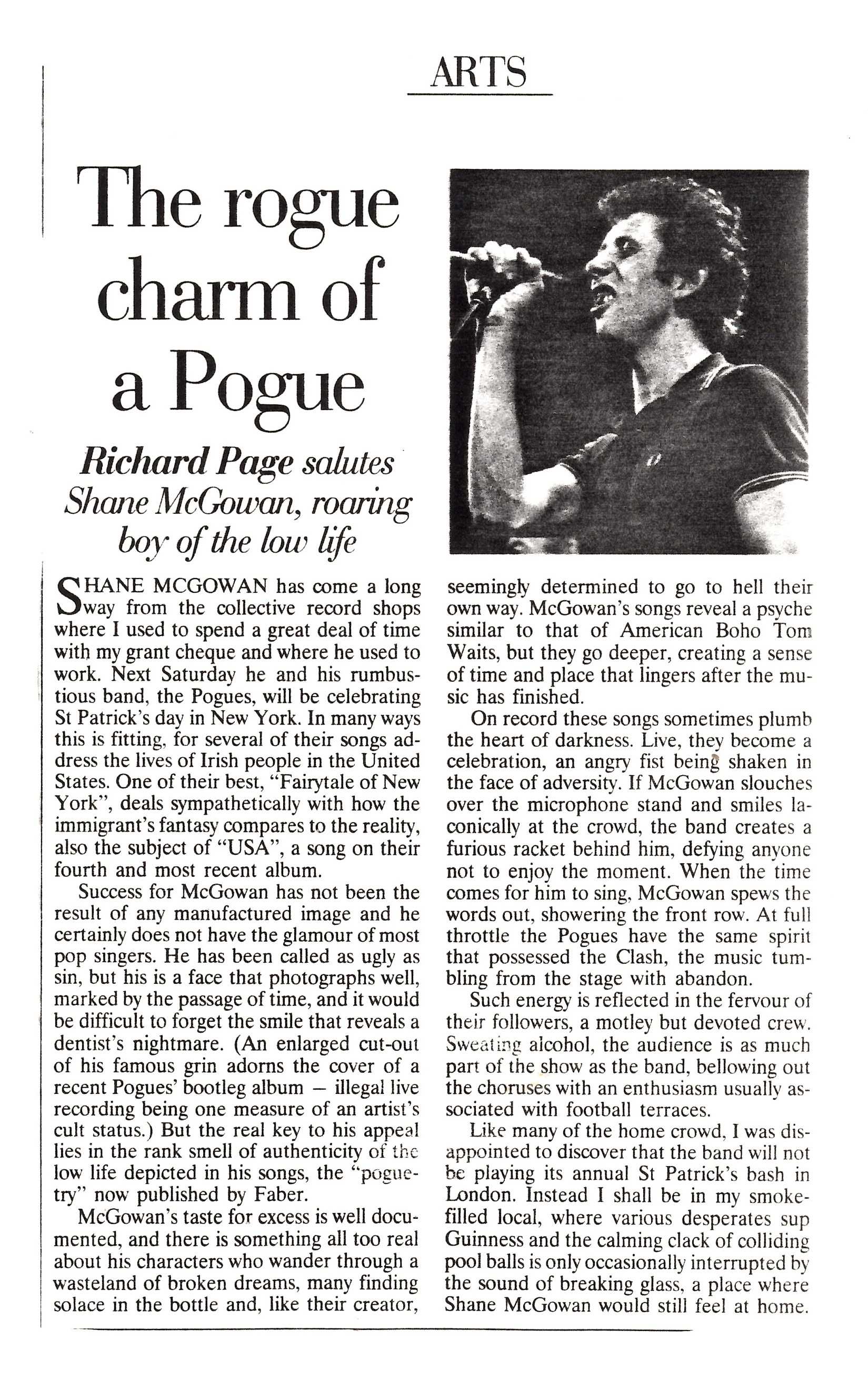 Pogues article